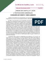 Normativa pesca Castilla y León 2017