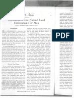 Contaminated and Natural Lead Environments of Man