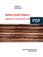 Mine Safety Audit Report