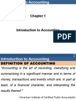 1-Introduction of Accounting
