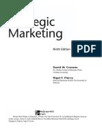 Strategic Marketing 10th Edition