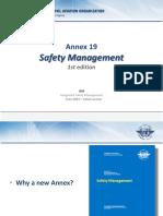 ICAO Annex 19 Presentation