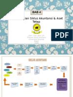 BAB 4 Penyelesaian Siklus Akuntansi & Aset Tetap