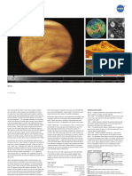 NASA Venus lithograph