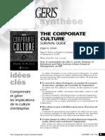 Corporate Culture Surival Guide Critique Carroll