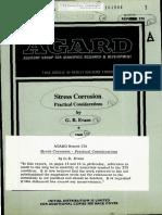 AGARD R 570 Stress Corrosion