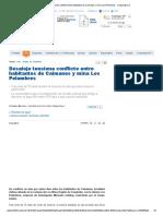 Desalojo Tensiona Conflicto Entre Habitantes de Caimanes y Mina Los Pelambres - Cooperativa