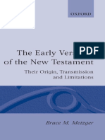 Bruce M. Metzger The Early Versions of the New Testament Their Origin Transmission, and Limitations.pdf