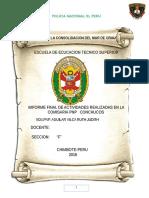 Informe Del So3 Pnp Aguilar Vilca Ruth Judith