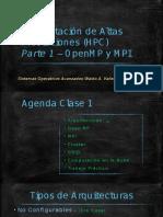 HPC Clase