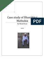 Bhanjibbhai Mathukia Case Study