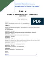 RAC 4 - Normas de Aeronavegabilidad y Operación Aeronaves