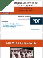 Analisis Farmaceutico Irritabilidad en Piel,Ocular,V. de Insulina y Pirogenos