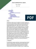 Bayesian Unconditional Power Analysis