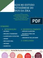 Avanços No Estudo Da Patogênese Do Vírus Da Zika