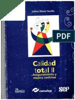 Libro Calidad Total II Aseguramiento y Mejora Continua - Celina Alvear