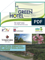 Green Hotel - Why Go Green?