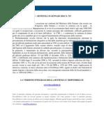 Fisco e Diritto - Corte Di Cassazione n 715 2010