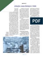 Poluição Atmosférica e Doença