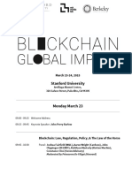 Stanford Blockchain Workshop Final Agenda