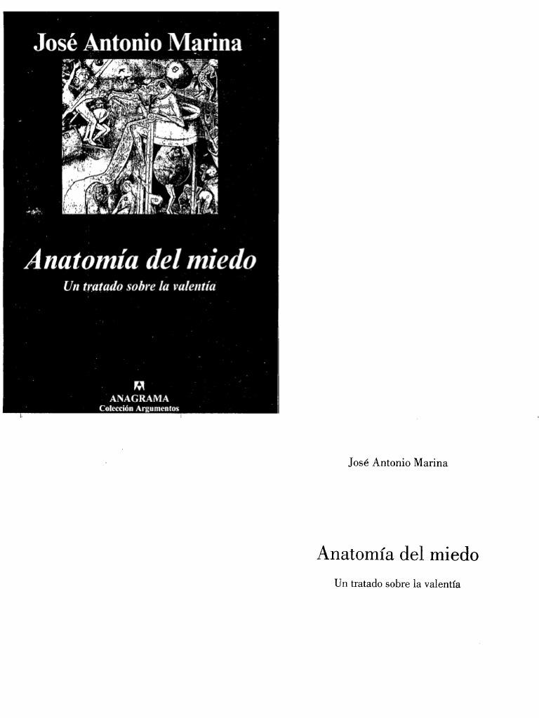 Anatomia Del Miedo Jose Antonio Marina Pdf Download
