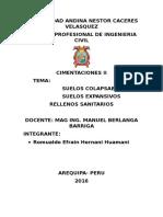 Universidad Andina Nestor Caceres Velasquez Trabajo