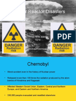 Nuclear Reactor Disasters (2)