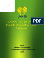 Panduan Pemira Online