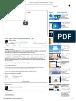 Como Grabar Audio Interno en Windows 7, 8, XP - YouTube