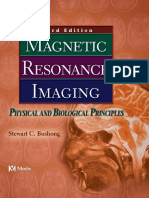 Buschong magnetic resonance imaging physical and biological principles