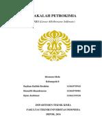 Proses Petrokimia - Makalah Petrokimia Linear Alkylbenzene Sulfonate LABS