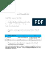 Simulasi Proses Kimia - Rayhan Hafidz I. - Quiz 1 SPK Dinamik (27-4-2016)