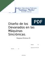 Diseño de Los Devanados en Las Máquinas Sincrónicas