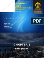 Perancangan Produk Kimia - TK 20 PPT Assignment 1