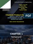 Perancangan Produk Kimia - Tk20 Report Final Report UAS