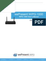 User Manual Wipg1000