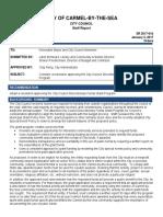 City Council Discretionary Funds Grant Program 01-03-17