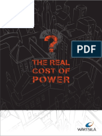 The Real Cost of Power