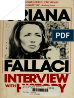 Interview With History - By Oriana Fallaci (Interview Art eBook)