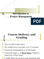 l1 Introduction to Project Management