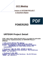 URTDSM Presentation for SR OCC_Aug16