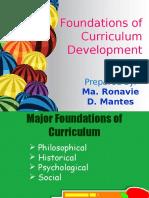 LESSON 4 Foundations of Curriculum Development