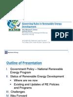 Gov-Rules Renewable Energy Application
