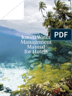 Water Management Manual for Hotels