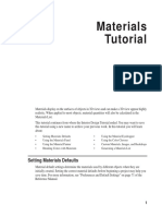 Chief Architect x7 Users Guide Materials Tutorial