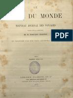 Le Tour Du Monde 1874 Primer Semestre