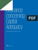 Ch Ordinance Concerning Capital Adequacy En