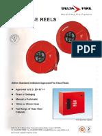 Delta Fire British Standard Institution Approved Fire Hose Reels