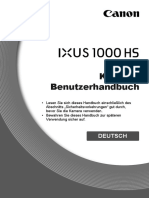 Canon 1000HS user manual german