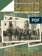 Sant Antoni Abat, Revista 2017